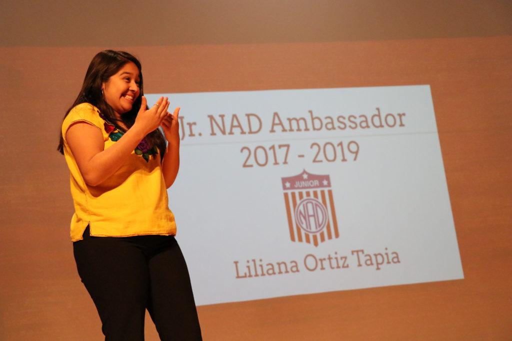 Liliana is presenting.