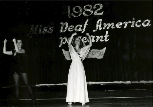 Miss Deaf America Pageant Contestants in 1982