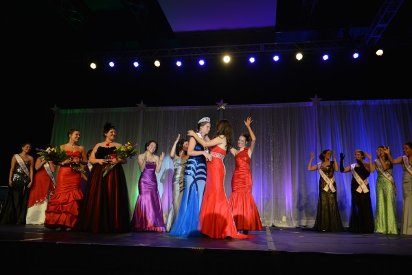 Chanel Gleicher of Maryland wins the Miss Deaf America title in 2012.